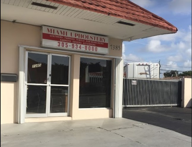 Miami Upholstery Store Front